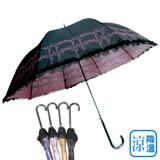【雨之戀】 福懋散熱降溫3~5℃歐風直傘-遮陽傘/晴雨傘/專櫃傘