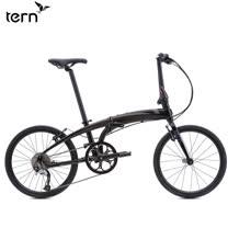 Tern Verge D9 鋁合金22吋9速451輪組折疊單車-黑底灰標