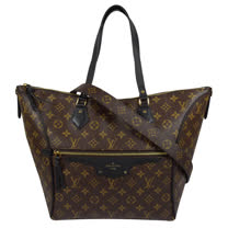 Louis Vuitton LV M44056 Tournelle MM 經典花紋肩斜兩用購物包.黑 現貨