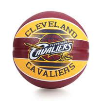 SPALDING 騎士 CAVALIERS 籃球-戶外 NBA 隊徽球 斯伯丁 深咖啡黃 F