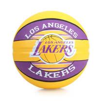 SPALDING 湖人 LAKERS  籃球-戶外 NBA 隊徽球 斯伯丁 紫黃 F