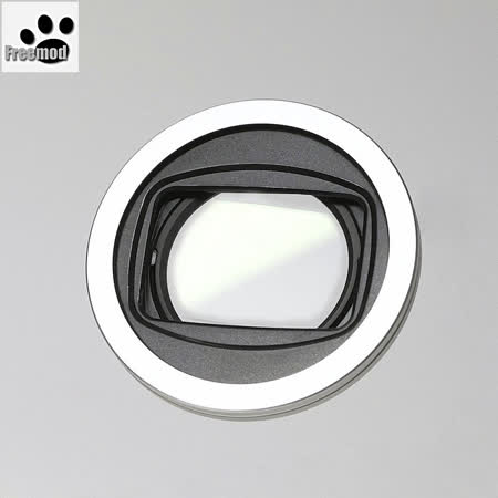 台灣製造Freemod半自動鏡頭蓋X-CAP2 43mm含STC保護鏡(SILVER銀色)