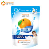 【橘子工坊】天然濃縮洗衣精補充包2000mlx6包/箱-高倍速淨