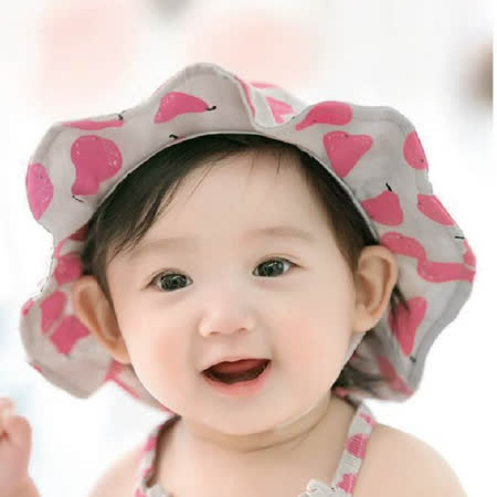 Double Love母嬰同室 韓版寶寶防曬童帽 (帽圍48-50cm)【JD0048】