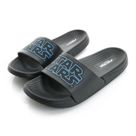 (親子鞋)2016款 StarWars星際大戰 極輕量舒適減壓室內外拖鞋 516519-黑