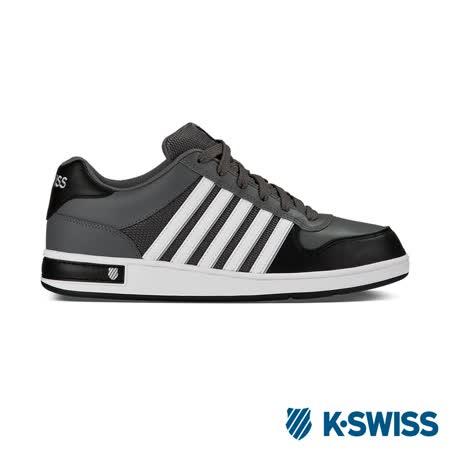 K-Swiss Thelen運動休閒鞋-男-炭灰/黑/白