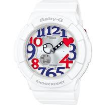 卡西歐 CASIO BABY-G 海軍風配色運動腕錶 BGA-130TR-7B