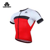(男) SOOMOM 雷尼短車衣-單車 自行車 速盟 紅黑白