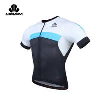 (男) SOOMOM 雷尼短車衣-單車 自行車 速盟 水藍白黑