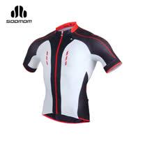 (男) SOOMOM 傳奇短車衣-腳踏車 自行車 速盟 黑紅白