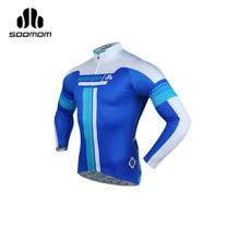 (男) SOOMOM 速盟 佐羅長車衣-自行車 單車 寶藍白
