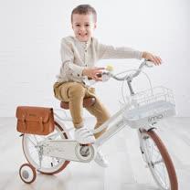 日本iimo兒童腳踏車16吋-時尚白
