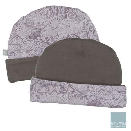美國 FINN & EMMA 雙面有機棉嬰兒帽 (童話故事)