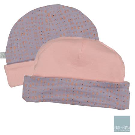 美國 FINN & EMMA 雙面有機棉嬰兒帽 (夢遊仙境)