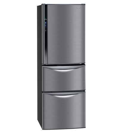 【國際牌Panasonic】ECONAVI 385L三門變頻電冰箱。極致黑/(NR-C387HV-K)