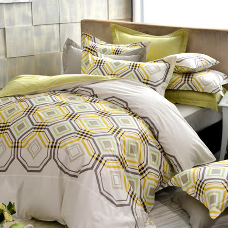 IN HOUSE-Rothenburg street - 300织纱精梳棉-四件式两用被床包组(加大)
