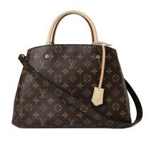 Louis Vuitton LV M41056 Montaigne MM 經典花紋兩用仕女包_預購