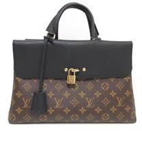 Louis Vuitton LV M41737 Venus 經典花紋兩用仕女包/公事包.黑_預購