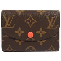 Louis Vuitton LV M64068 Rosalie 經典花紋信用卡零錢包_預購