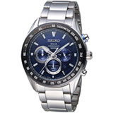 SEIKO Criteria 極速救援太陽能計時腕錶 V175-0EE0B SSC585P1