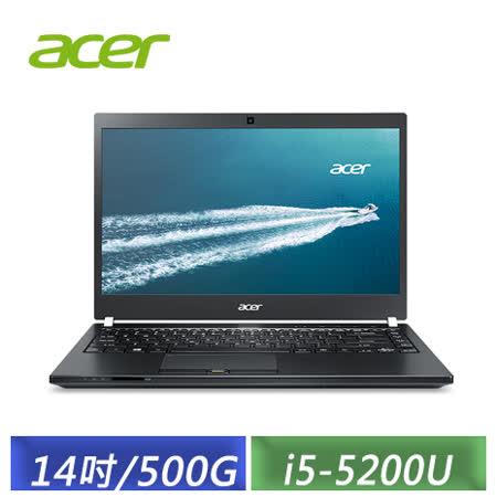 ACER TravelMate TMP446-M-52XK 14吋/i5-5200U/4GB/500G/W7P&W10P 商務筆電
