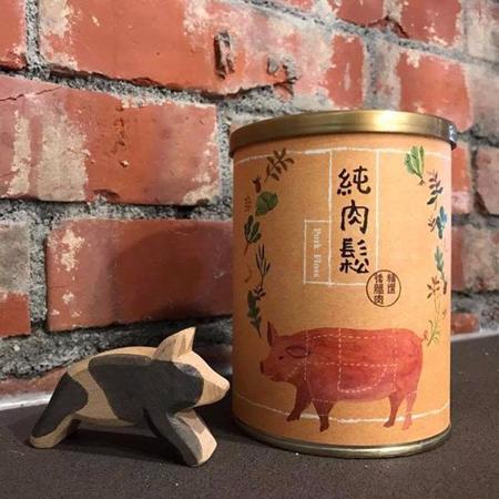 【花田喜彘】純肉鬆4罐(每罐100G)(免運)