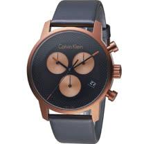 Calvin Klein 都會系列計時腕錶 K2G17TC1