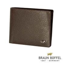 【BRAUN BUFFEL】德國小金牛-丘喬系列10卡皮夾(可可色)BF301-314-CA