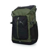 PUMA APEX後背包-雙肩包 電腦包 旅行包 行李包 登山 軍綠黑 F