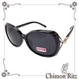 【Chimon Ritz】開運銀狐偏光UV400太陽眼鏡-黑