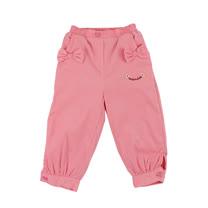 【愛的世界】MYBABY 小熊甜心系列 鋪棉細條絨長褲/4~8歲-中國製-