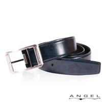 ANGEL精選型男休閒皮帶(深藍雲彩)B2705
