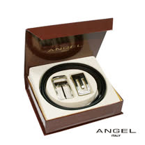 ANGEL雙頭皮帶禮盒組0566-50101-2