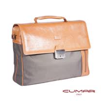 CUMAR義大利原裝進口公事包 (附鑰匙) 0296-B8207