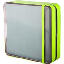 【義大利 BANALE】旅用纖柔快乾巾(灰毛巾 & 草綠盒) BANALE TOWEL-GRAY & LIME