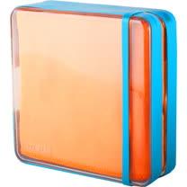 【義大利 BANALE】 旅用纖柔快乾巾(橘毛巾 & 藍盒) BANALE TOWEL-ORANGE & BLUE