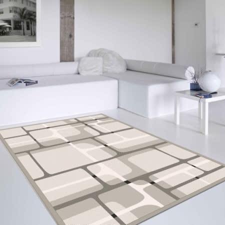 【范登伯格】花草集★迷幻格局丝质地毯(140x200cm)