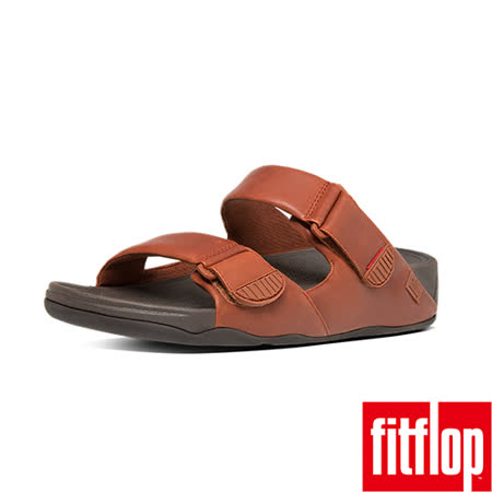 FitFlop™_(男款)GOGH MOC™ ADJUSTABLE NUBUCK-深褐色