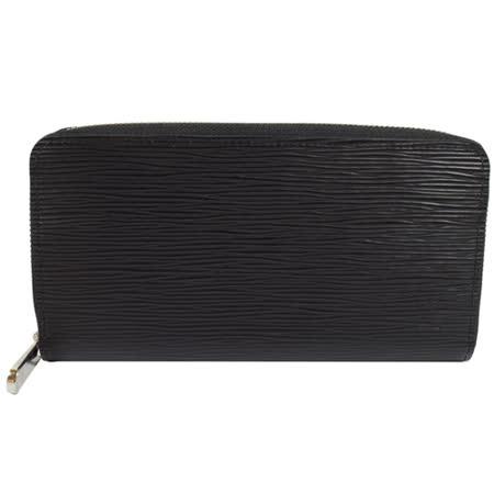 Louis Vuitton LV M61857 M60072 ZIPPY EPI 水波纹皮革拉鍊长夹.黑_现货