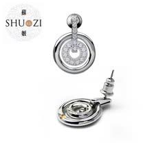SHUZI™ 漪波耳環 - 美國製造  ER-S20