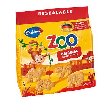 百樂順動物造型餅乾-奶油100g