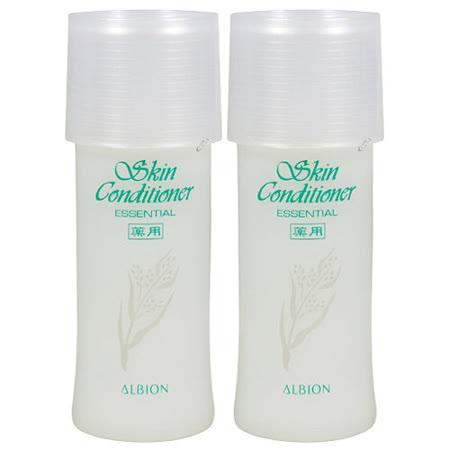 ALBION艾倫比亞 健康化妝水N(27ml)*2附噴頭