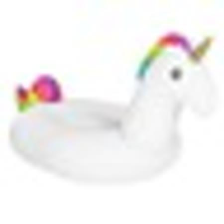 游泳圈-充氣超大可愛獨角獸造型坐騎水上活動用品73ez12【米蘭精品】
