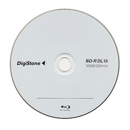 DigiStone 國際版 A+ 藍光 6X BD-R DL 50GB 桶裝 (10片)