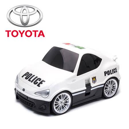 【nicegoods 好東西】RIDAZ原廠跑車兒童行李箱-白色Toyota 86