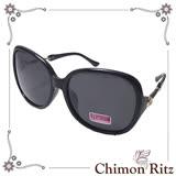 【Chimon Ritz】晴空魔戀偏光太陽眼鏡-黑 UV400