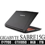 GIGABYTE Sabre 15G/i7-7700HQ/8GB/GTX1050/1TB