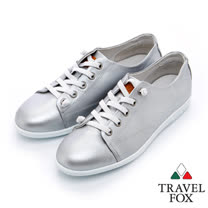 Travel Fox 時尚典雅休閒鞋-917382-(銀-365)(女)
