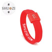 SHUZI™ 舒適手環 紅 - 美國製造  CB-R06