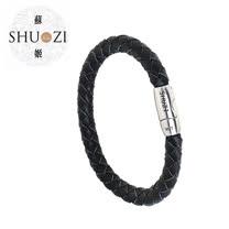 SHUZI™ 編織手環 黑 - 美國製造  LB-R01